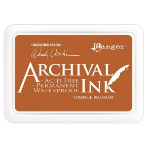 Ranger Archival Inkpad by Wendy Vecchi - Orange Blossom