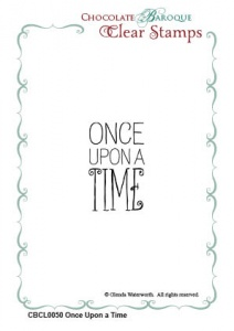 Once Upon a Time unmounted Clear stamp