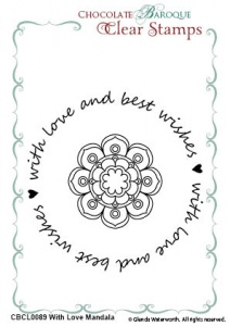 With Love Mandala Duo Clear stamps
