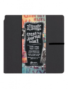 Dylusions Creative Journal - Black Square