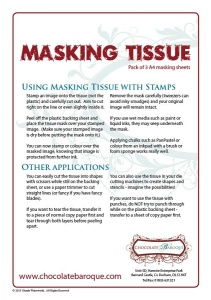 Masking Tissue - A4 Pack of 3