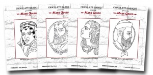 Mark Gould - The Four Faces Multi-buy unmounted rubber stamps - A6