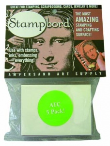 Pack of 5 ATCs sized Stampbord
