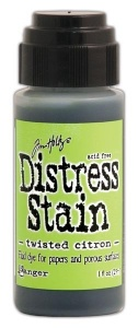 Tim Holtz Distress Stain Twisted Citron