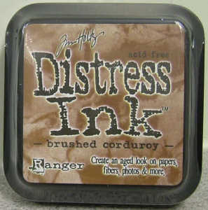 Brushed Corduroy Distress Ink Pad