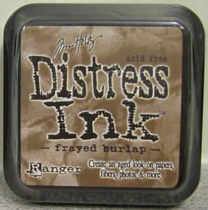 Frayed Burlap Distress Ink Pad