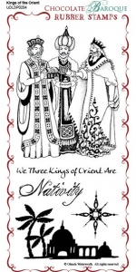 Kings of the Orient Rubber Stamp Sheet - DL