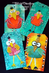 Tando Creative - Whimsical Birds set 2