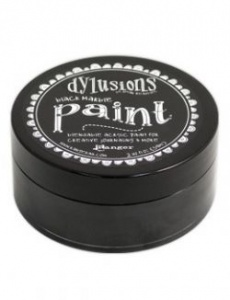 Dylusions Acrylic Paint - Black Marble