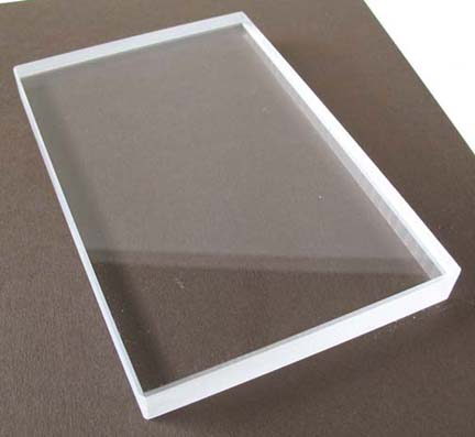 4 x 7 5 acrylic block chocolate baroque for Large acrylic block