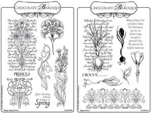 Spring Flowers Rubber stamp Multi-buy