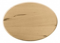 Basswood Thin Plaque 5''x7'' Oval
