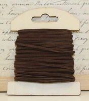 Faux Suede Lacing - Warm Brown 10M x 2mm