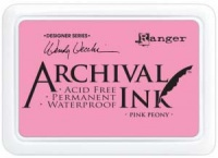 Ranger Archival Inkpad by Wendy Vecchi - Pink Peony