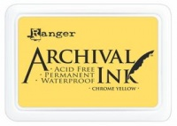Ranger Archival Inkpad - Chrome Yellow
