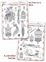 Birds of Paradise Rubber stamps Multi-buy - A5