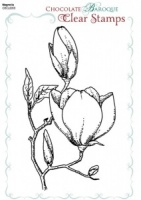 Magnolia Clear stamp