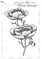Peony Clear stamp