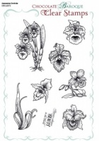 Awesome Orchids Clear stamp sheet - A5