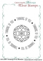 Thinking of You Mandala Duo Clear stamps