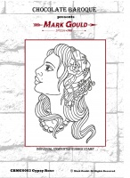 Mark Gould - Gypsy Rose individual unmounted rubber stamp - A6