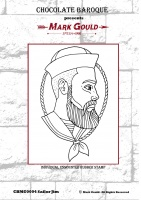 Mark Gould - Sailor Jim individual unmounted rubber stamp - A6