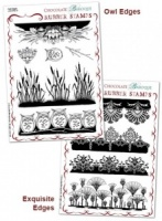 Exquisite Owls Rubber stamps Multi-buy - A5