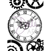 DaliART Clear Stamp - Clock Face