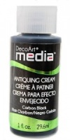 DecoArt Antiquing Cream - Carbon Black