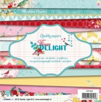 Studio Light 6'' x 6'' Paper Pad - Flower Delight