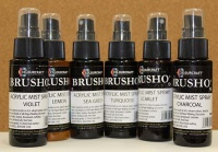 Brusho Acrylic Sprays set - Brights pack of 6