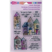 Stampendous Clear Stamp set - Family Home