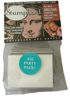 Pack of 16 ATCs sized Stampbord