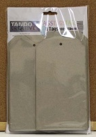 Tando Creative - Set of 8 Greyboard Tags size 10
