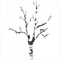 Crafter's Workshop Template 6x6 - Shadow Tree