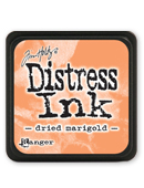 Tim Holtz Mini Distress Ink Pad - Dried Marigold