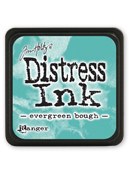 Tim Holtz Mini Distress Ink Pad - Evergreen Bough