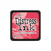 Tim Holtz Mini Distress Ink Pad - Festive Berries