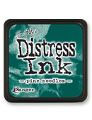 Tim Holtz Mini Distress Ink Pad - Pine Needles