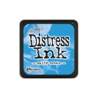 Tim Holtz Mini Distress Ink Pad - Salty Ocean