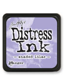 Tim Holtz Mini Distress Ink Pad - Shaded Lilac