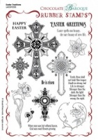 Easter Traditions Rubber Stamp sheet - A5