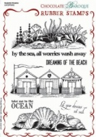 Seaside Dreams Rubber stamp sheet - A5
