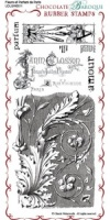 Parfum de Paris Rubber Stamp Sheet - DL