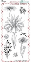 Lily Rubber Stamp Sheet - DL