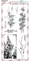Eastern Grasses Rubber Stamp Sheet - DL