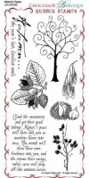 Nature's Peace Rubber Stamp Sheet - DL