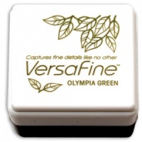 Versafine Small Inkpad Olympia Green