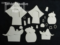 Tando Creative - Whimsical Houses set 2