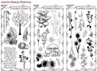 Autumn Beauty Collection Rubber Stamps Multi-buy - DL